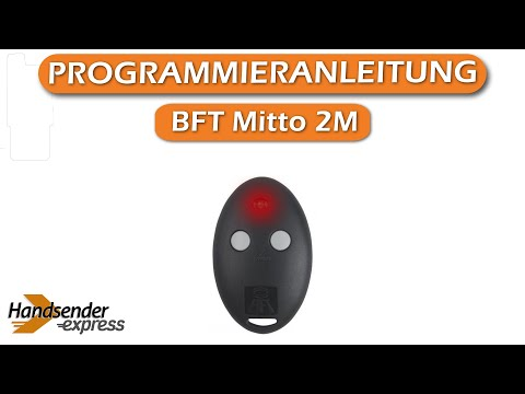 bft mitto 2 remote programming instructions