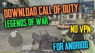 Download CALL OF DUTY Legend Of War on Android | NO VPN | Full Installation and Gameplay