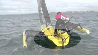 Tips for Tacking a Weta Trimaran