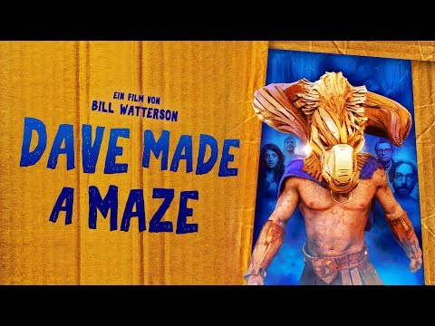 Dave Made a Maze | Trailer deutsch german HD | Abenteuer-Komödie