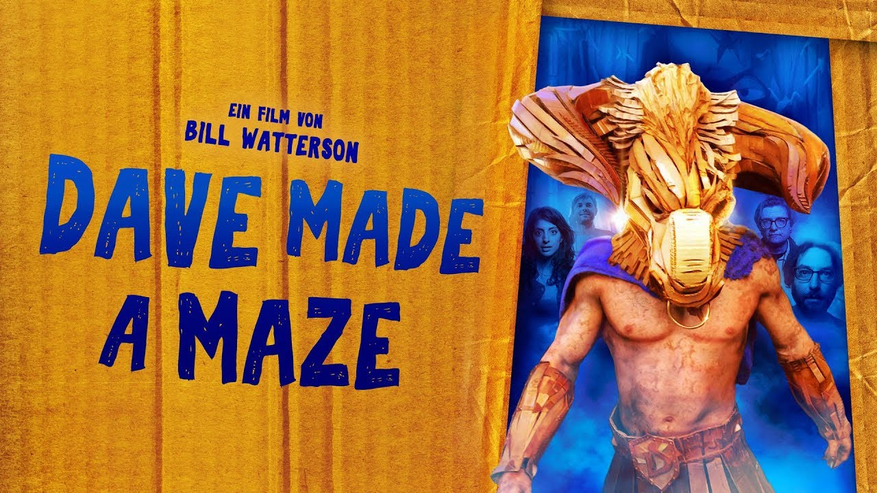 Dave Made a Maze | Trailer deutsch german HD | Abenteuer-Komödie