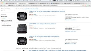 uniden dfr detectors lrd replacements now on amazon