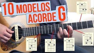 10 maneiras diferentes de fazer o acorde G maior