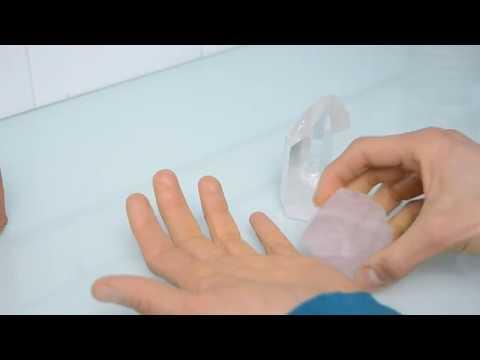 Crystal quartz healing properties. Demonstration of crystals high vibration energy