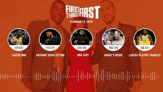 First Things First audio podcast (2.8.19) Cris Carter, Nick Wright, Jenna Wolfe | FIRST THINGS FIRST