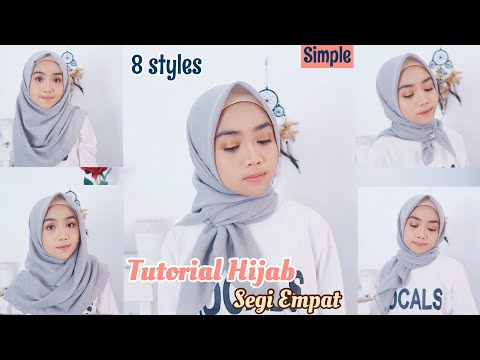 Tutorial Hijab Wisuda Tanpa Ciput Ninja Bisabo Channel