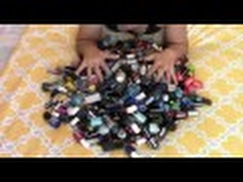 NAIL POLISH COLLECTION + DECLUTTER - PT.1 | Jennifer Barnes | Makeup Investigator