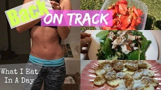 After a long winter season of eating... not so 'clean' foods (I may...