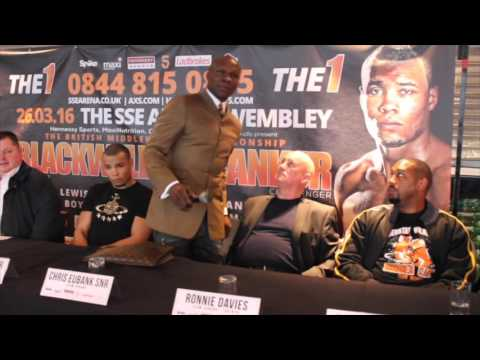 OVERLY HEATED !! - NICK BLACKWELL v CHRIS EUBANK JR (FULL) PRESS CONFERENCE UNCUT