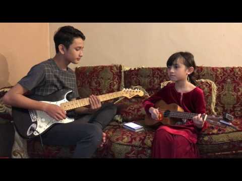 Aisyah_projector band cover by Wafiy & Alyssa Dezek