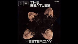 Yesterday | The Beatles (LYRICS ON SCREEN / ORIGINAL)
