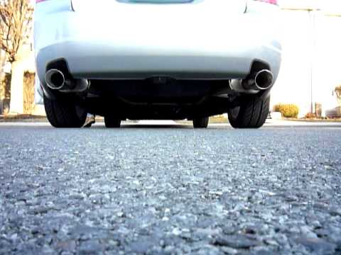 Acura Tl Base Xlr Non Resonate Exhaust System YouTube - Acura tl exhaust system