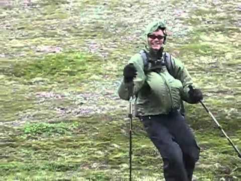 Windy Hike of Grace Ridge, Kachemak Bay State Park, AK