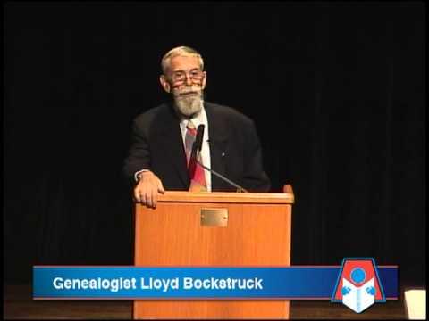 Genealogist Lloyd Bockstruck @ The Allen Public Library