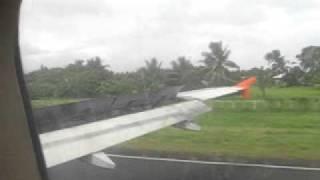 Airphilexpress runs off the runway