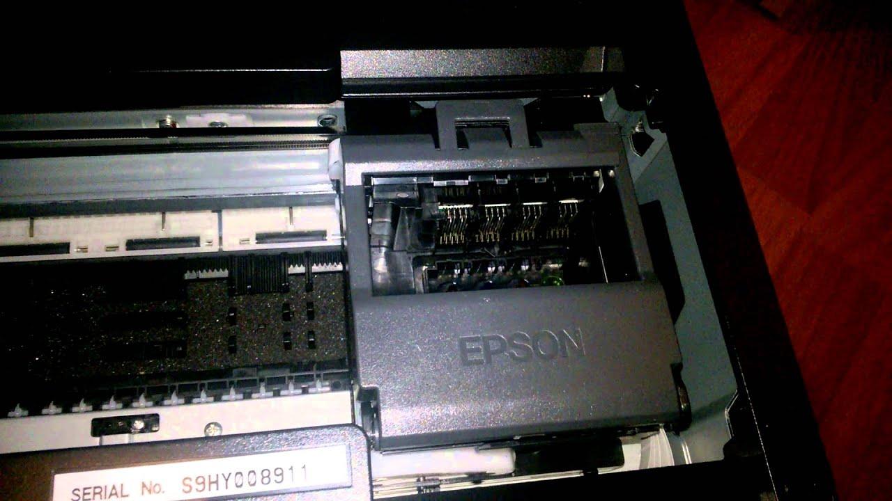 Paper Jam How To Fix It Printer New Epson Wf7610dwf Youtube