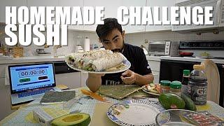 HOMEMADE SUSHI CHALLENGE