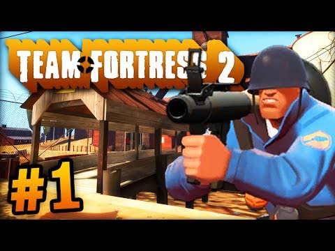 """THE UBER TEAM!"" - Team Fortress 2 LIVE w/ Ali-A #1! - TF2"