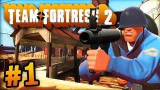 """THE UBER TEAM!"" - Team Fortress 2 LIVE w/ Ali-A #1! - (TF2)"