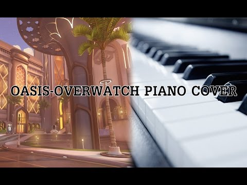 Overwatch Oasis Theme - Piano Cover (+Sheet Music)