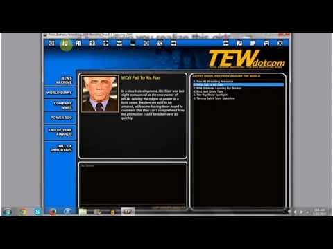 TEW 2013 Mod Spotlight: 2000 - The New Millennium |Ep.1| Flair Buys WCW!