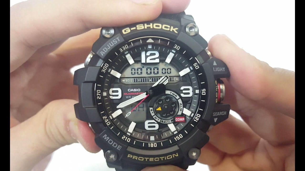 Casio G Shock Gg 1000 1adr Unboxing Youtube