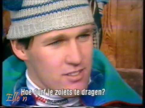Interview Dan Jansen - Winter Olympic Games Calgary 1988 - 500 m