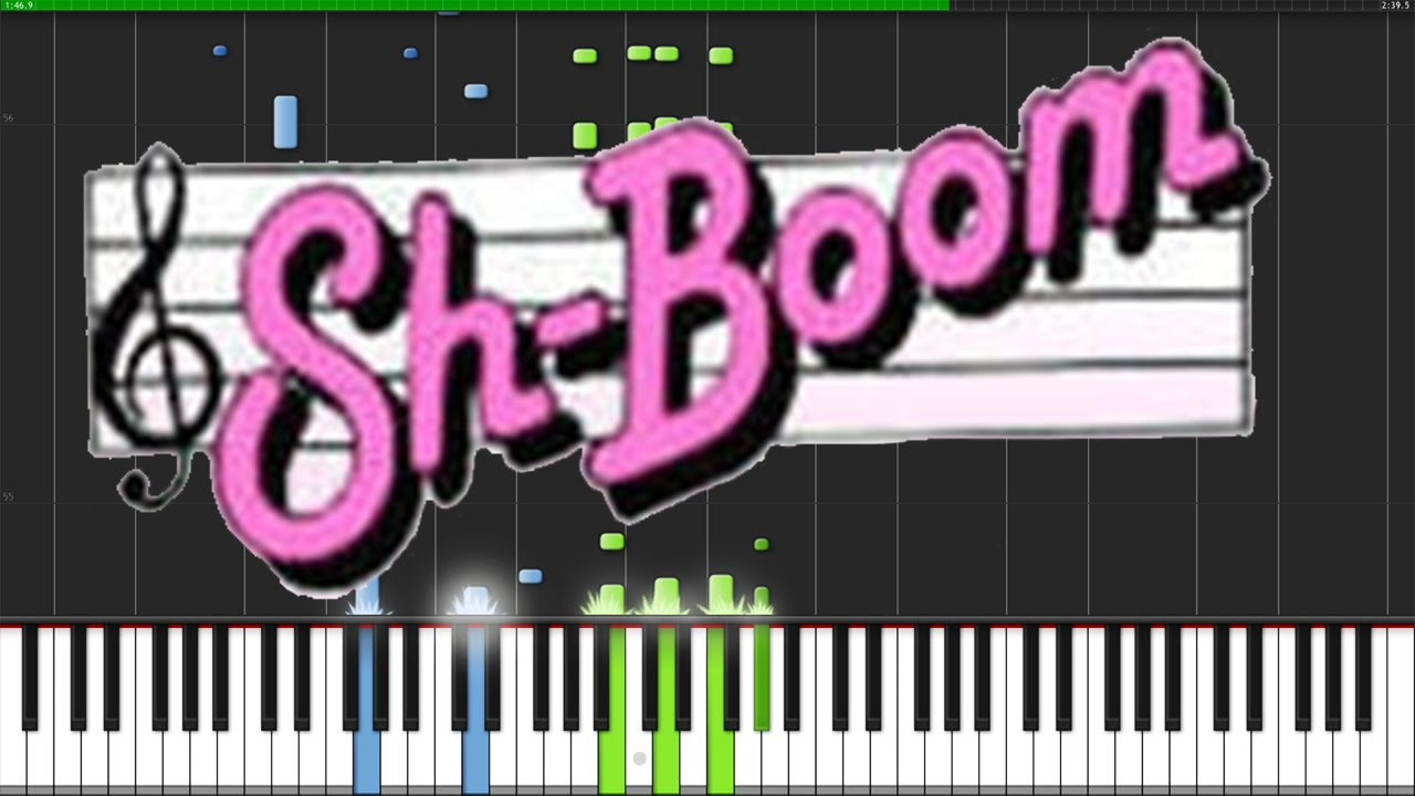 Sh boom life could be a dream the chords piano tutorial sh boom life could be a dream the chords piano tutorial synthesia david kaylor youtube hexwebz Image collections