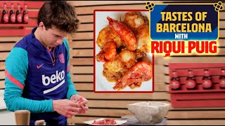👨‍🍳 COOKING WITH RIQUI PUIG 🦐🥘