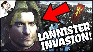 BRUTAL LANNISTER INVASION! Stark v Lannister 10000 Man Battle - Seven Kingdoms Total War