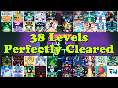 Rolling Sky • All 38 Levels • Perfectly Cleared