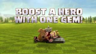 Clash of Clans Valentine's Day Hero Boost/ clash of clans hari valentine day boost HERO