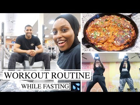 WORKOUT ROUTINE WITH MY BROTHER + DELICIOUS IFTAR RECIPE | #TheRamadanDaily | Aysha Abdul