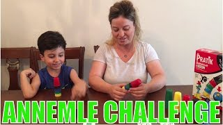 ANNEMLE REDKA PRATİK BARDAKLAR OYUNU OYNADIK! | Hızlı olan kazanır - Eğlenceli Aile Oyunları