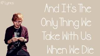 Ed Sheeran - Photograph (Song + Lyrics On Screen)