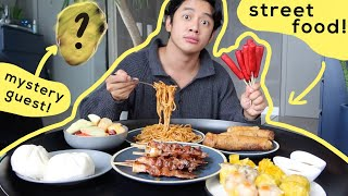Streetfood Mukbang with Mystery Guest (+ Giveaway!)