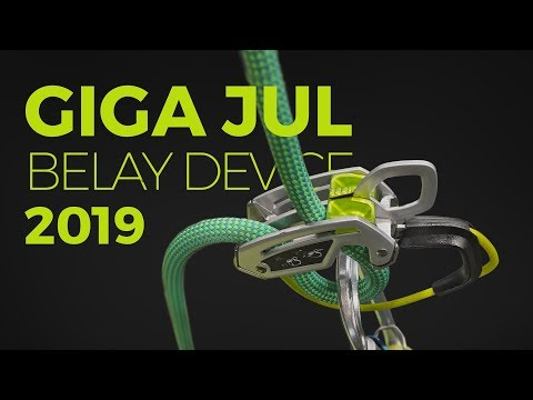 Edelrid Giga Jul belay device - 2019
