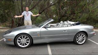 Вот почему Aston Martin DB7 - это экзотическая машина с V12 на халяву