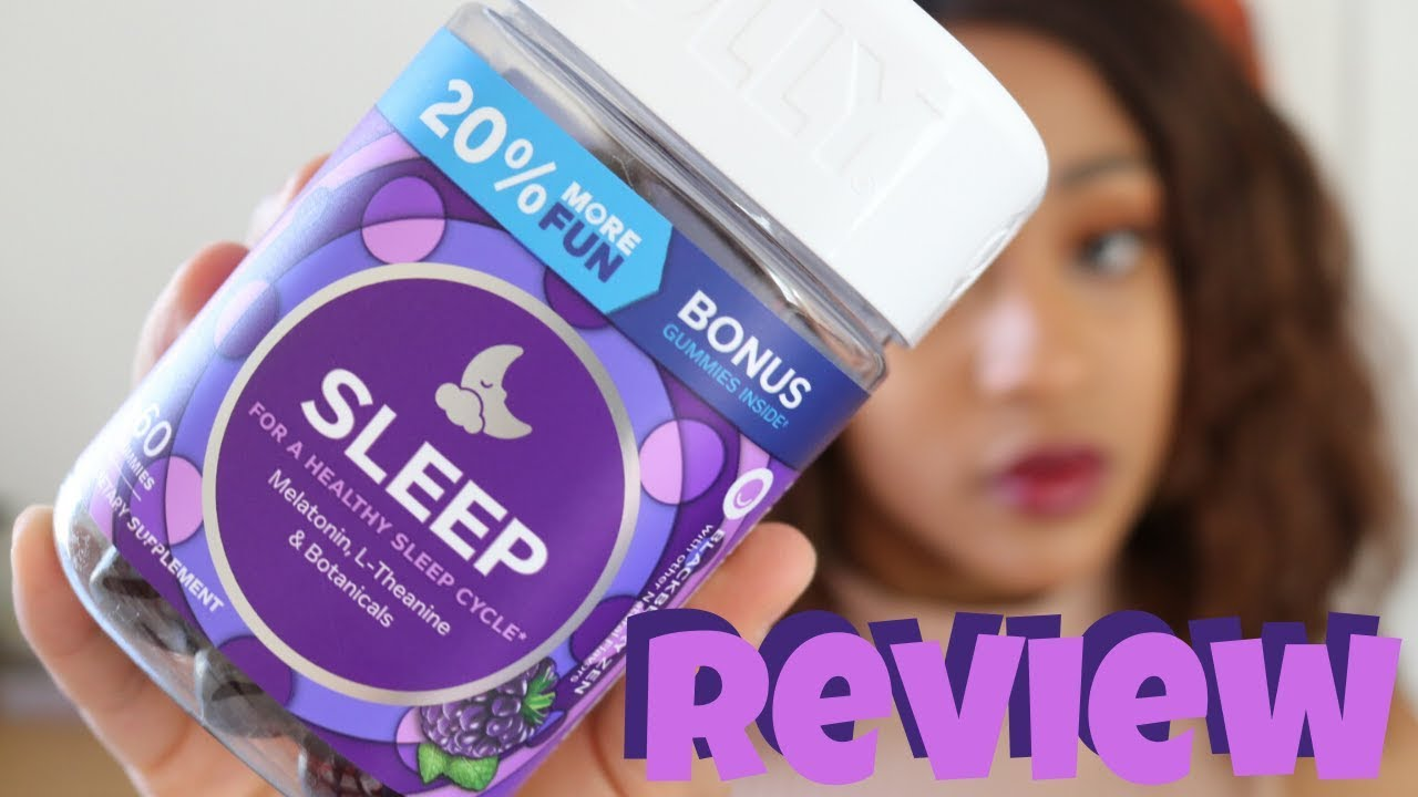 Olly Vitamins Sleep Review Olly Vitamins Youtube