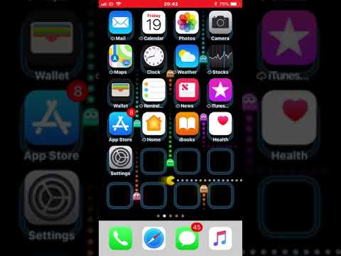 How To Get These Ultra Cool PAC MAN Wallpapers On Your iPhone