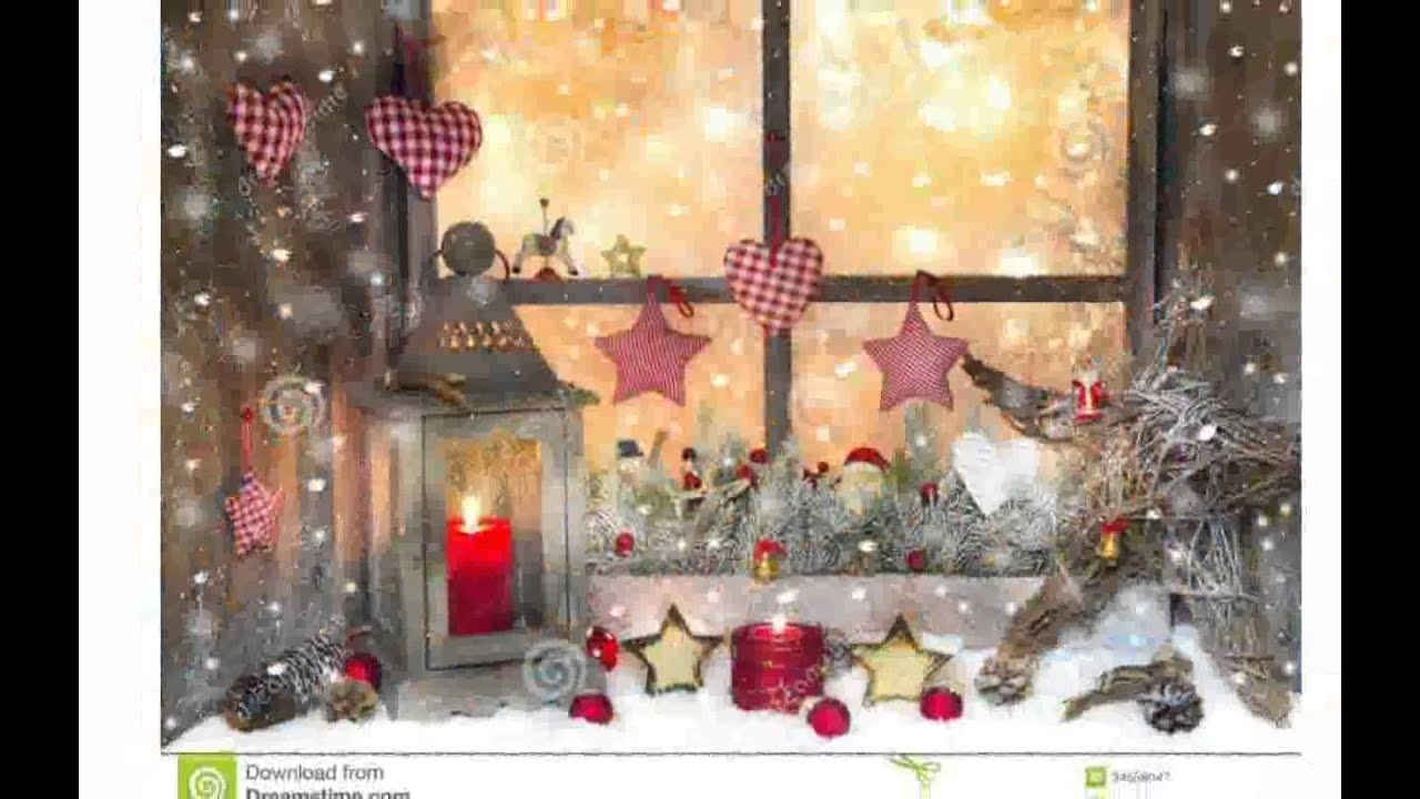 Christmas Window Decorations - YouTube