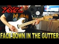 Download XYZ | Face Down In The Gutter | GUITAR COVER MP3 song and Music Video
