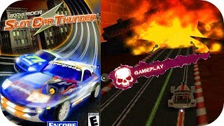 GROOVERIDER SLOT CAR THUNDER - Gameplay Moments GameCube HD