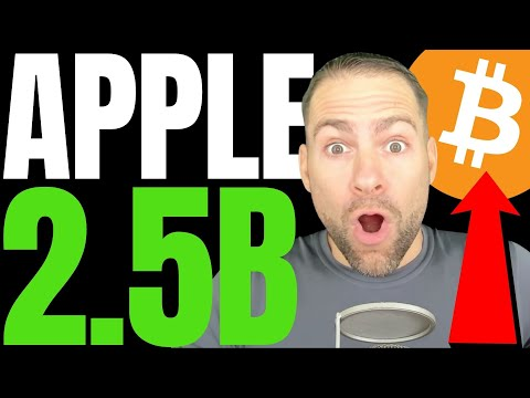 APPLE SET TO ANNOUNCE $2.5 BILLION BITCOIN PURCHASE ON MONDAY?!! OPTIONS TRADERS AIM FOR $100K BTC!!