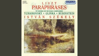 Tscherkessenmarsch (I & II) , transcription for piano (after Glinka: Ruslan & Lyudmila) , S. 406