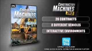 Construction Machines 2014   PC Build Simulator Trailer
