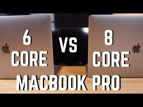 Macbook Pro Shootout : 6 Core vs 8 Core