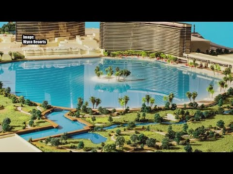 Wynn Resorts announces plans for recreational lake on Strip