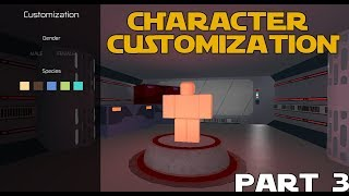 Roblox Scripting Main Menu - [PART 3] - Character Customization (Designing the GUI)