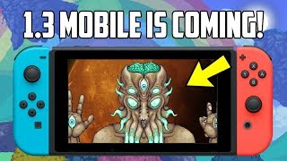 Terraria 1.3 Nintendo Switch and Mobile New Image! Release Update!